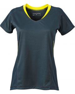 Funktions T-shirt James & Nicholson Running Damen JN 471 in 12 verschiedenen Farben