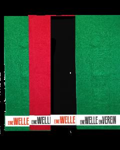 Handtuch TSC Wellingsbüttel grün