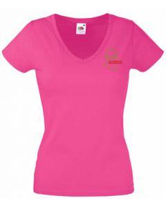 Damen T-shirt V-Ausschnitt  750 Jahre Osdorf