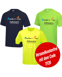 Swim & Run Fehmarn 2020 Funktionsshirt in 3 Farben