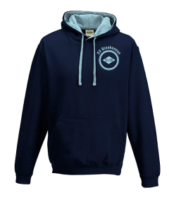 Kapuzensweatshirt SV Blankenese zweifarbig