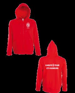 ETV Karate Kaputzensweatjacke